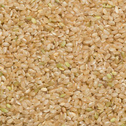 Rice brown short org. 25 kg