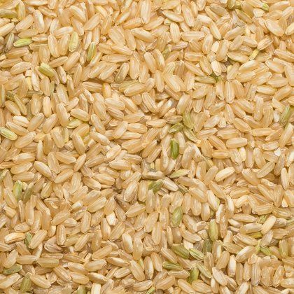 Rice brown long B org. 25 kg
