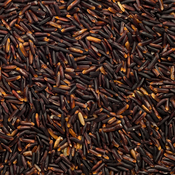Rice black Hom. org. 25 kg