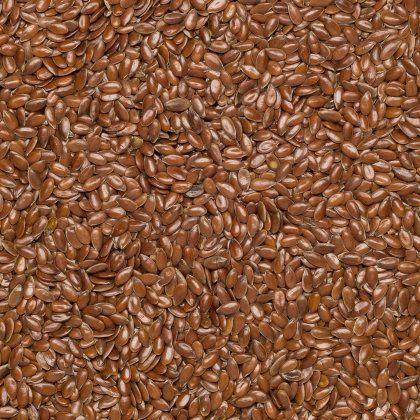 Flax seed brown org. 25 kg*