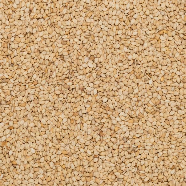 Sesame seeds roasted unhulled org.25 kg