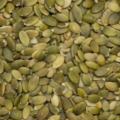 Pumpkin seeds shelled SS A org. 25 kg*