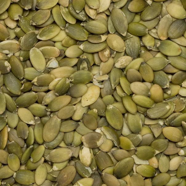 Pumpkin seeds shelled SS A org. 25 kg