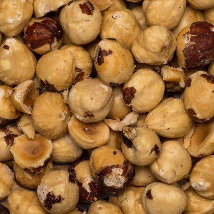 Hazelnuts 11-13 roasted org. 25 kg