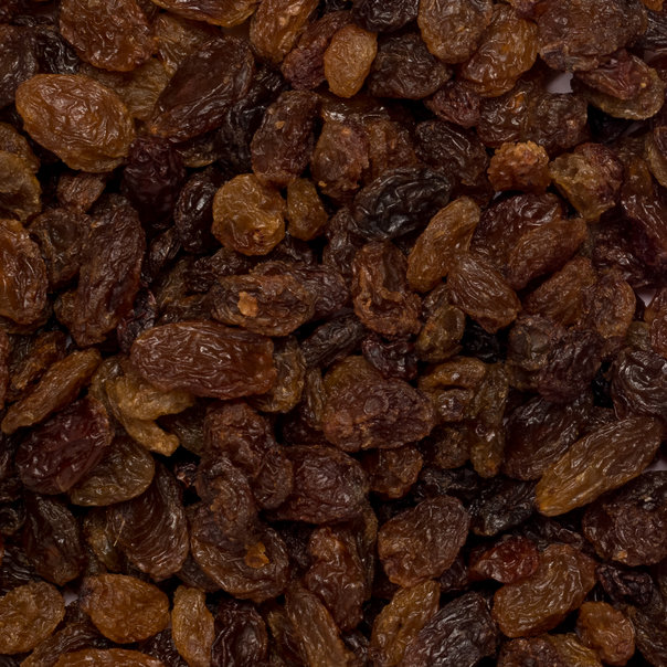 Sultana raisins org. 12,5 kg