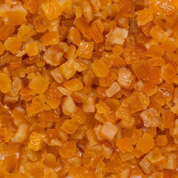 Orangepeel candied org. 5 kg