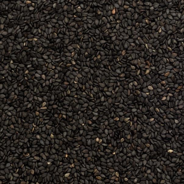 Sesame seeds black org. 25 kg
