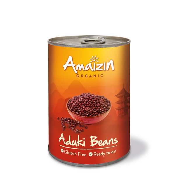 Amaizin Aduki beans org. 6x400g