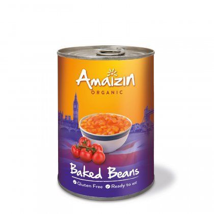Amaizin Baked beans org. 6x400g