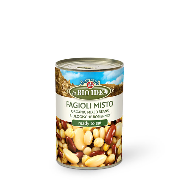 LBI Mixed beans org. 6x400g