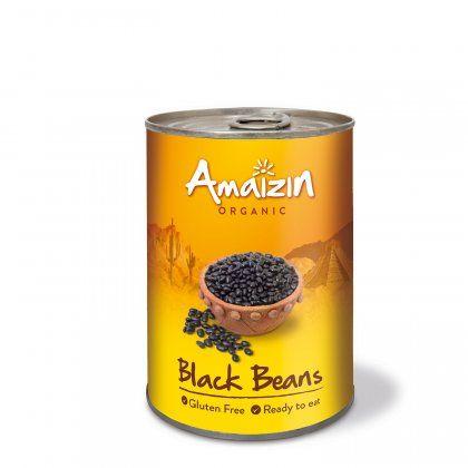 Amaizin Black beans org. 6x400g