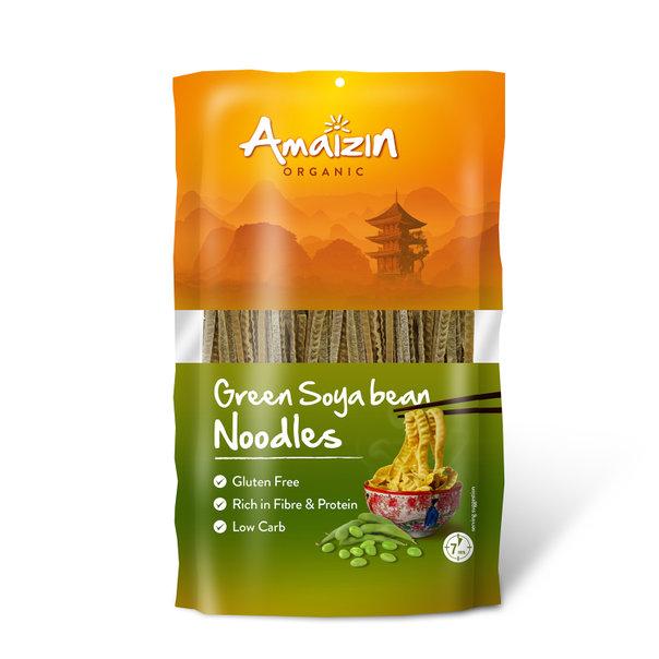 Amaizin Soya bean noodles green org. 8x200g