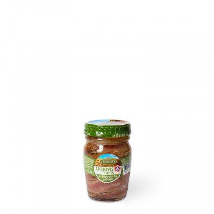 LBI Anchovyfillets in organic olive oil org 12x78g