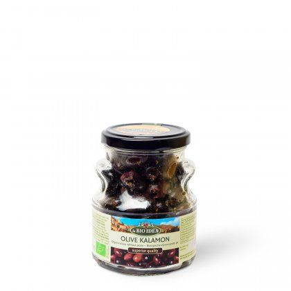 LBI Olives black pitted org. 6x180g