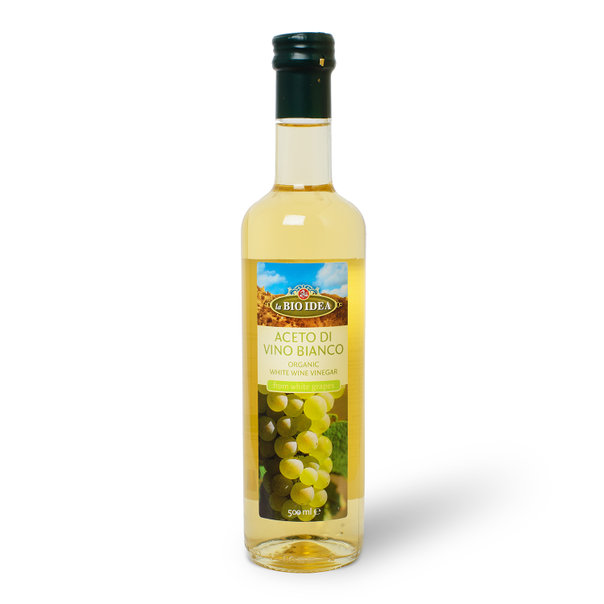 LBI White wine vinegar org. 6x500ml