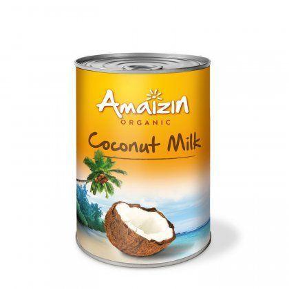 Amaizin Coconut milk 17%  6x400ml org