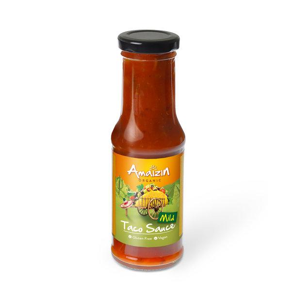 Amaizin Taco sauce mild org 6x220gr