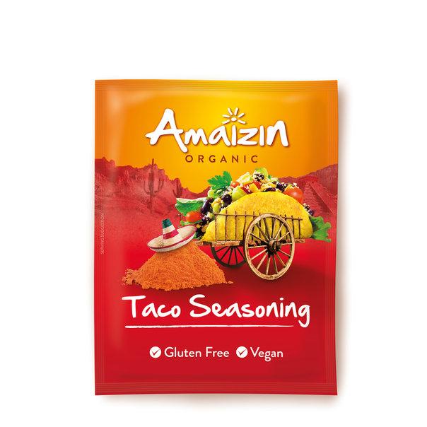 Amaizin Taco seasoning org. 12x30g