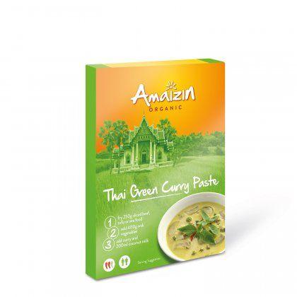 Thai green curry org. 12x120g