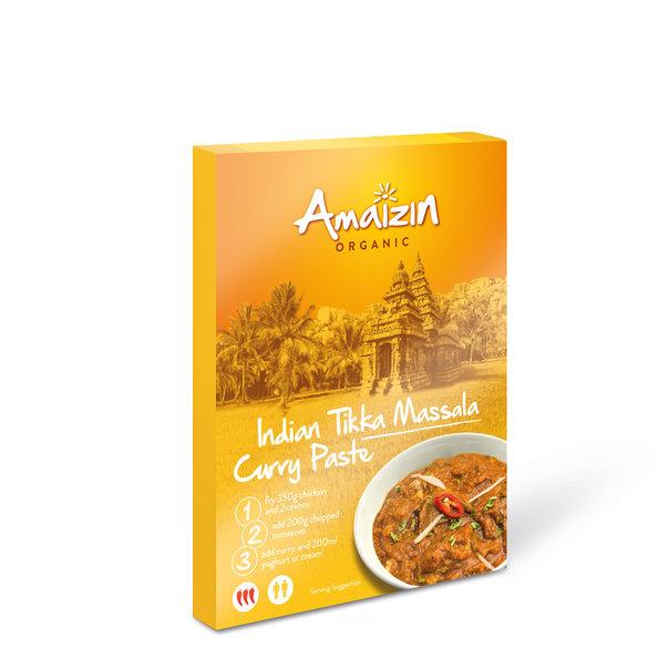 Amaizin Tikka massala curry paste org. 12x80g
