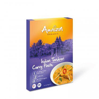 Amaizin Tandoori curry paste org. 12x80g