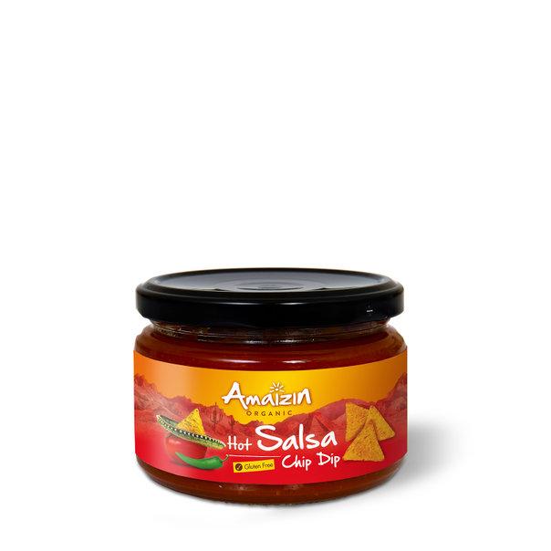 Amaizin Salsa hot org. 6x260g