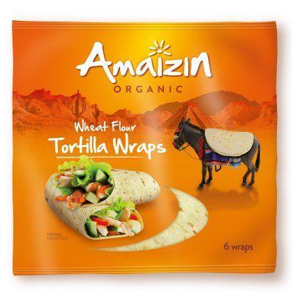 Amaizin Tortilla wraps org. 16x240gr