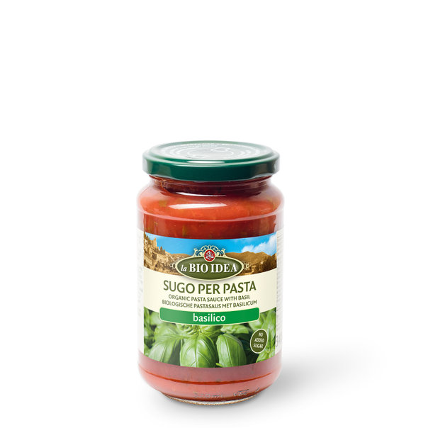 LBI Pasta sauce basil org. 6x340g