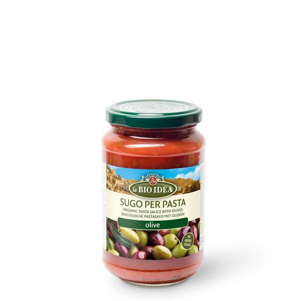 LBI Pasta sauce olive org. 6x340g