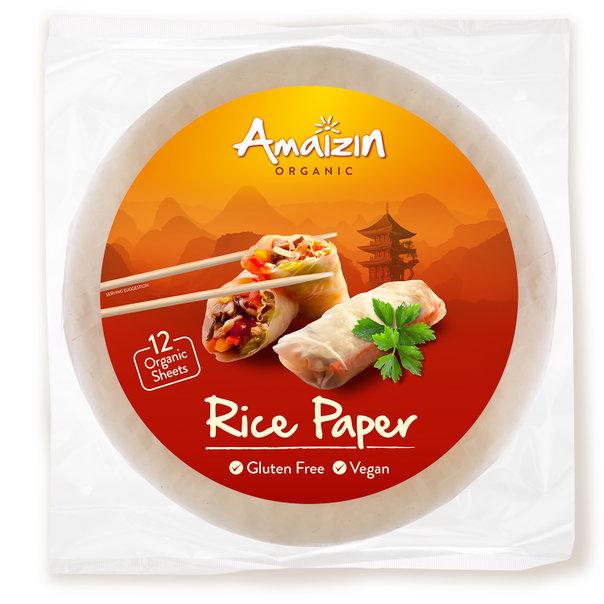 Amaizin Rice paper org. 12x110g