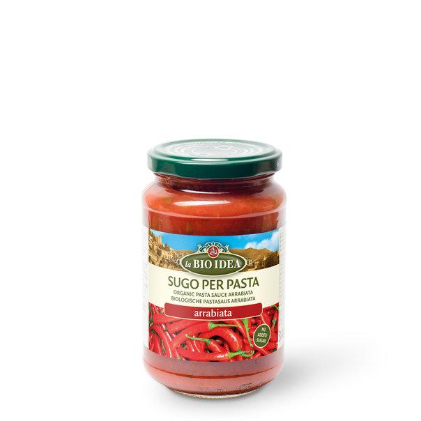 LBI Pasta sauce arrabiatta org. 6x340g