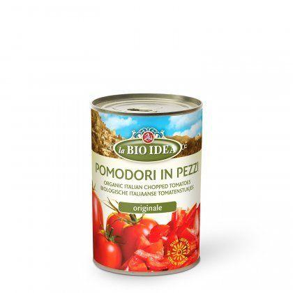 LBI Chopped tomatoes org. 12x400g