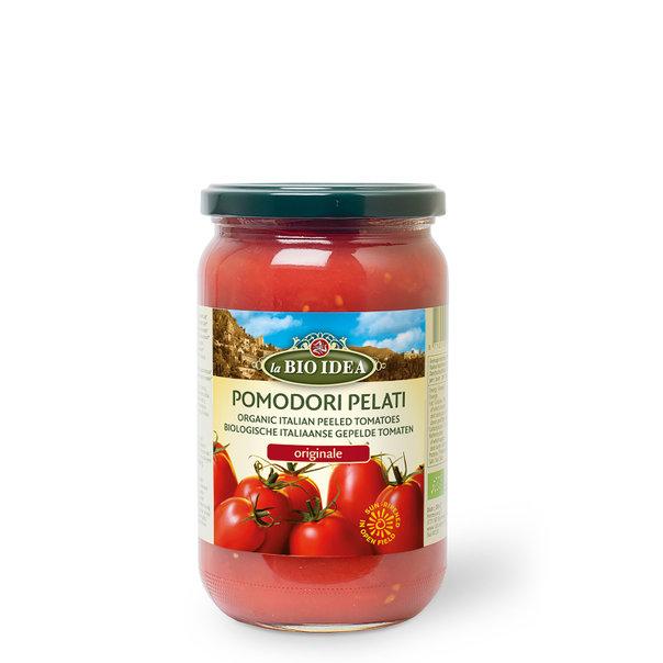 LBI Peeled tomatoes glass org. 6x660g