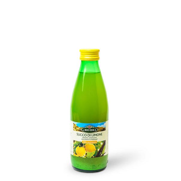 LBI Lemon juice org. 12x250ml