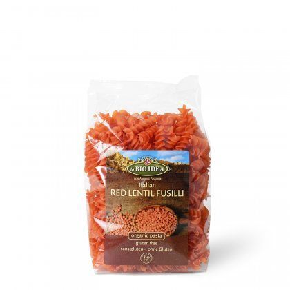 LBI Fusilli red lentils org. 12x250g