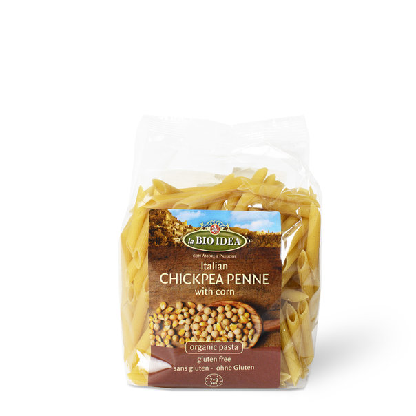 LBI Penne chickpea/corn org. 12x250g