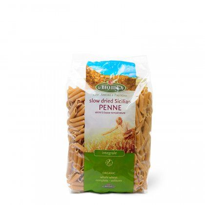 LBI Penne whole wheat org. 12x500g