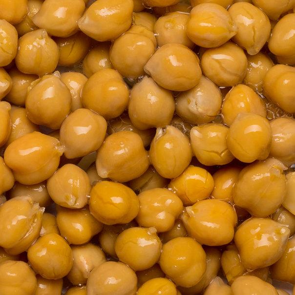 Chick peas tin org. 6x2,5 kg